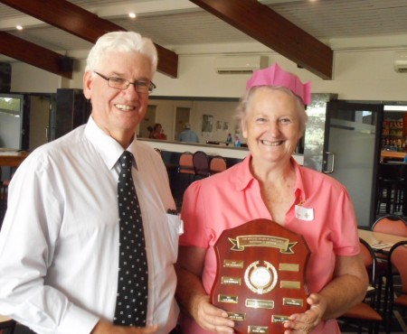 Joan Crosby named Volunteer of the Year