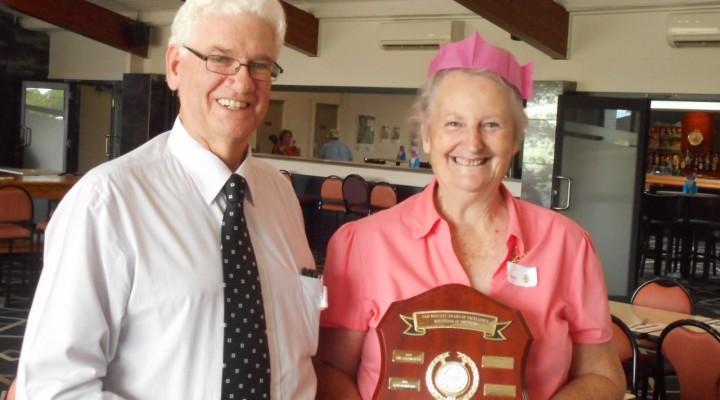 Joan Crosby named Volunteer of the Year