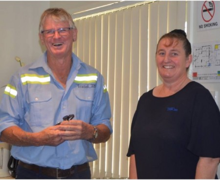 TransCare driver Chris Gill chalks up 20 years on the road