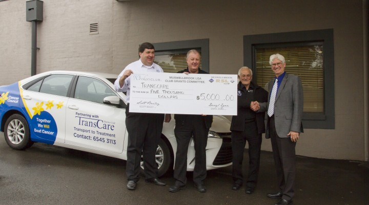TransCare vehicle updates thanks to Muswellbrook Clubs support