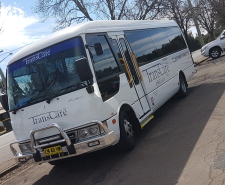 Thursday bus to Tamworth