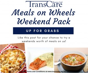 2 Weekend Meals on Wheels Pack