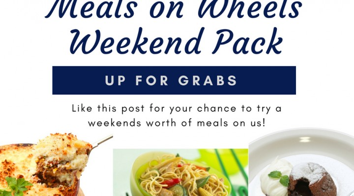 Meals on Wheels Weekend Pack competition.
